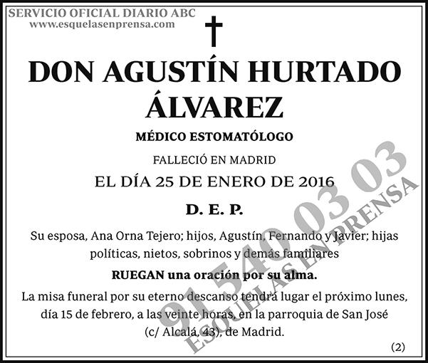 Agustín Hurtado Álvarez